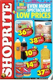 Eastern Cape Shoprite Big Birthday Specials