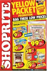 Find Specials || Gauteng, Limpopo, Mpumalanga, North West Shoprite Yellow Packet Promotion