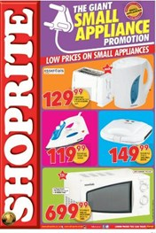 Shoprite Small Appliances Deals