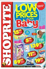 KZN Shoprite Baby Product Specials