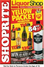 Find Specials || Western Cape Shoprite Liquor Specials