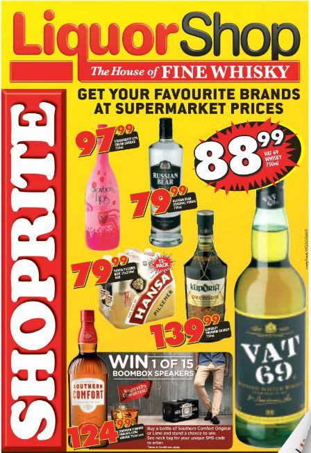 Western Cape Shoprite Liquorshop Deals 24 Feb 2016 06