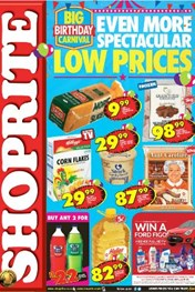 KZN Big Birthday Shoprite Deals