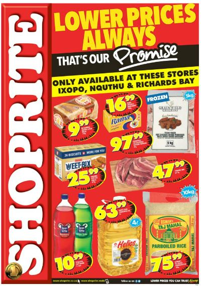 Kzn Shoprite Promotions 05 Sep 2016 25 Sep 2016 Find