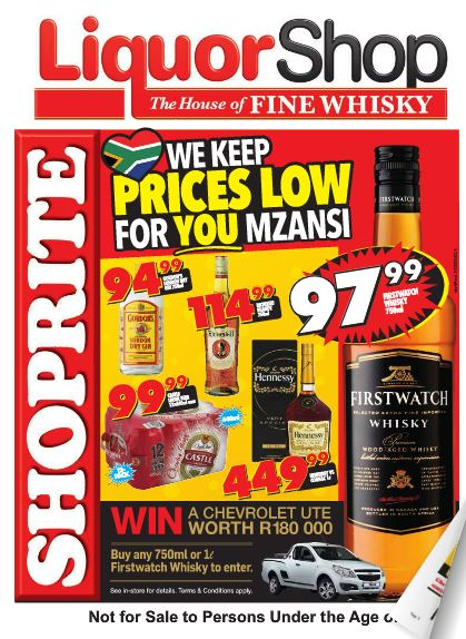 Northern Cape Free State Shoprite Liquor Deals 26 Sep