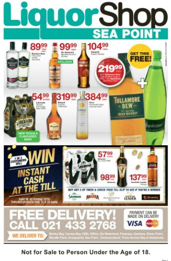 Western Cape Checkers Liquorshop Specials 26 Sep 2016 09