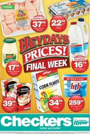 Western Cape Checkers Heydays Specials