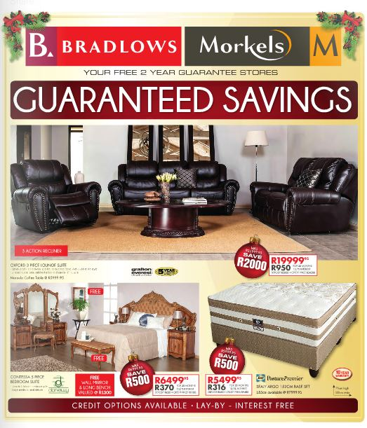 Furniture Specials: Bradlows & Morkels Weekly Specials 29 Sep 2015