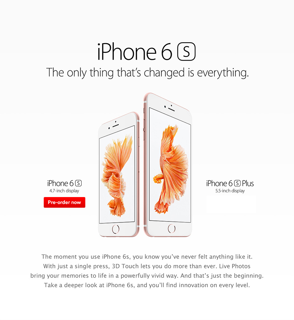 Iphone 6s release date in Sydney