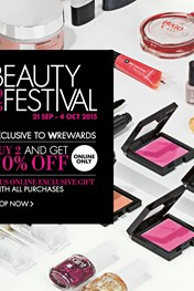 Find Specials || Woolworths Beauty Festival