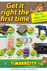 Find Specials || Timber City Weekly Specials Catalogue