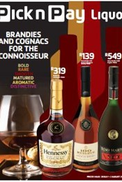 Pick N Pay Liquor Brandies And Cognacs Catalogue 20 Jul