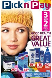 Find Specials || Pick n Pay Good Health Promotions