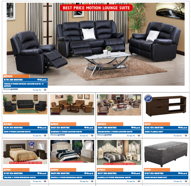 Russells and joshua doore specials 26 jul 2016 08 aug 2016 find specials Home furniture catalogue south africa