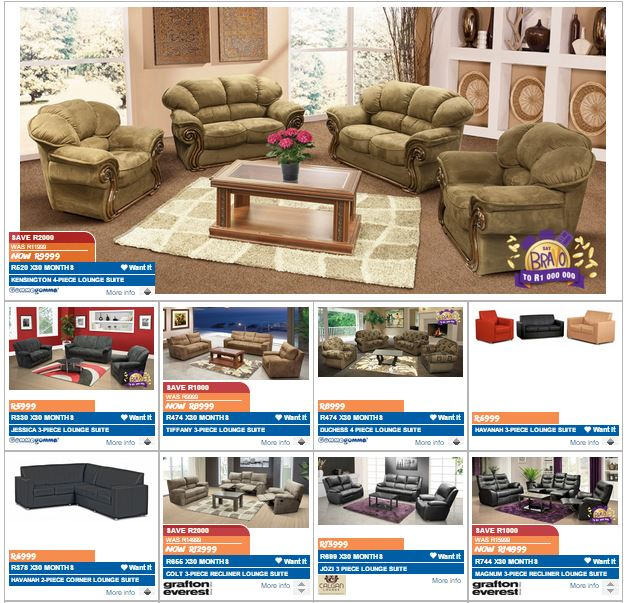 Russells And Joshua Doore Furniture Specials 07 Mar 2016