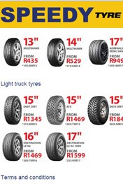 Find Specials || Speedy Tyre Specials