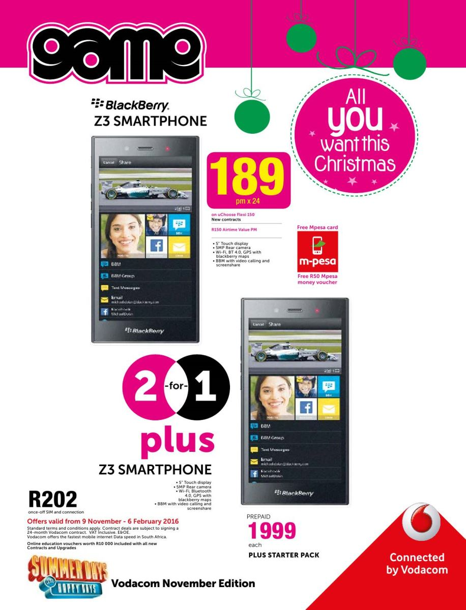 Game cellular deals