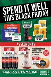 Food Lovers Market EC - Black Friday