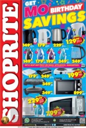 Find Specials || Mo Birthday Specials Shoprite - Electronics