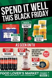 Food Lovers Market KZN - Black Friday